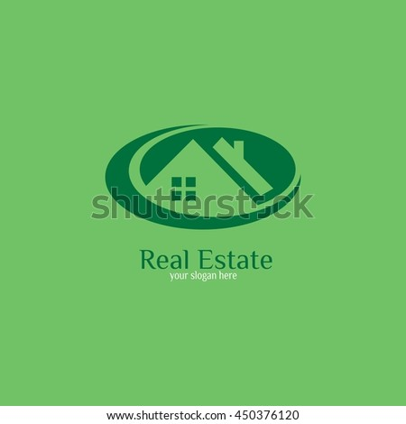 real estate logo designs for business visual identity. Houses and skyscrapers theme. vector illustration.