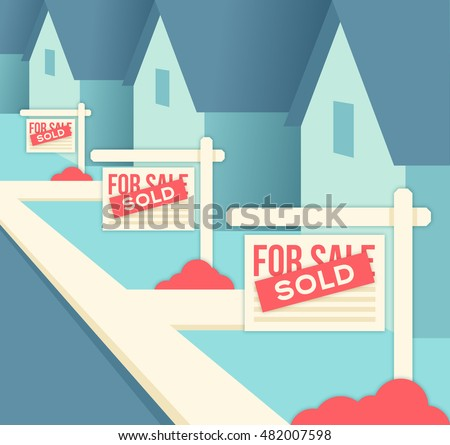 Real Estate Sold Sign Properties