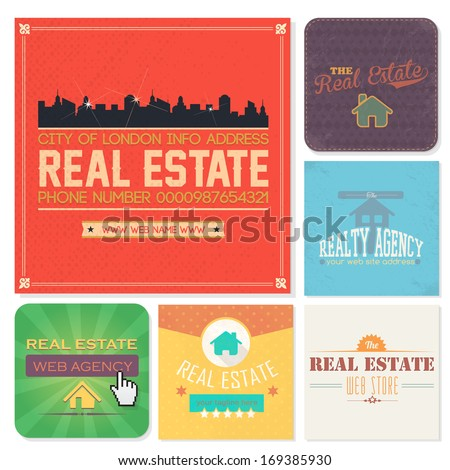 Real Estate Vertical Banner Real Estate Tags Banners