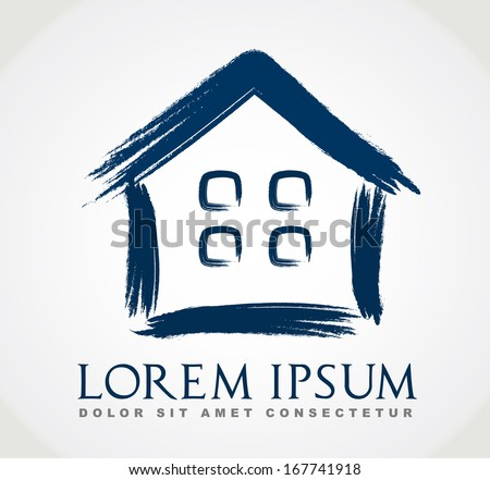 Real estate vector. House symbol. - stock vector