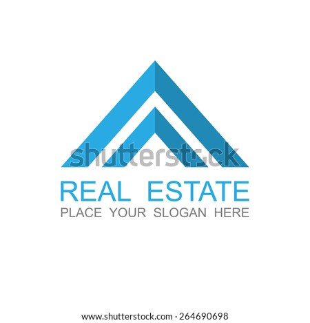 Real Estate vector logo design template.vector - stock vector