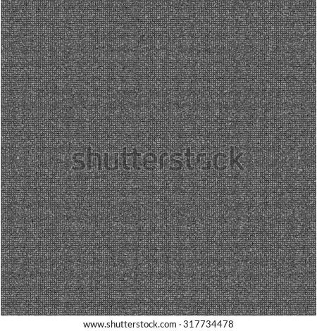 Realistic black linen texture pattern. Black seamless linen background texture. Seamless texture of dark cloth. Vector illustration. Vector eps10. - stock vector