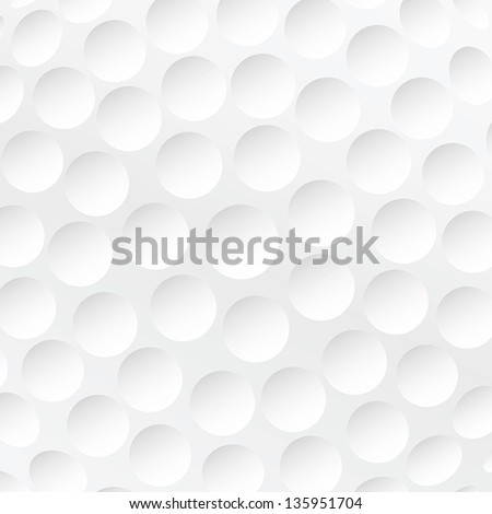 realistic rendition of golf ball texture closeup. - stock vector