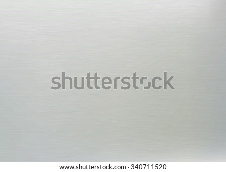 realistic smooth metal texture background. rectangle vector illustration - stock vector