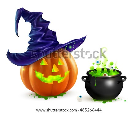 Halloween Cauldron Stock Images, Royalty-Free Images & Vectors ...