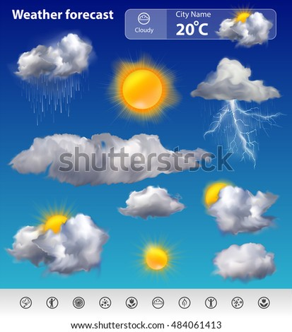 weather forecast stock images royalty free images vectors shutterstock. Black Bedroom Furniture Sets. Home Design Ideas