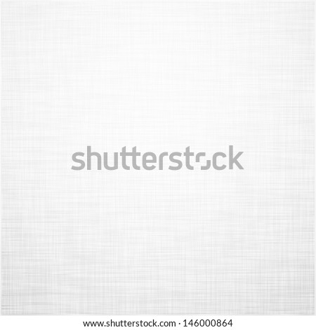 Realistic white linen texture pattern. Vector eps10.   - stock vector