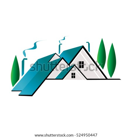Realty Property Home Logo Design Template