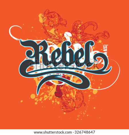 Rebel Graphic