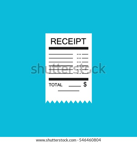 Example Of An Invoice Template Pdf Paper Bill Imgenes Pagas Y Sin Cargo Y Vectores En Stock  Request A Delivery Receipt Word with Printable Receipt Excel Receipt Flat Icon Shop Invoice Excel