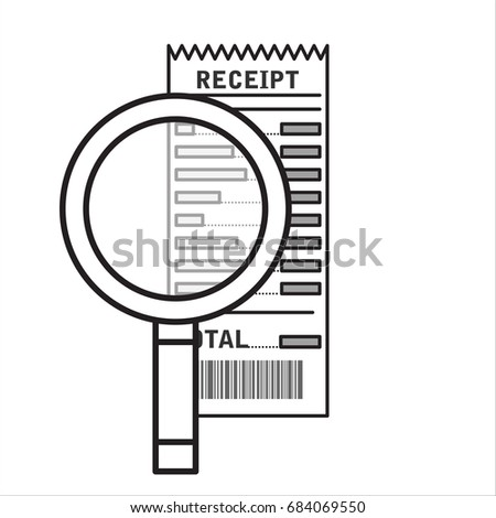 Rbs Invoice Finance Limited Word Utility Bill Stock Images Royaltyfree Images  Vectors  Donation Receipt Form Template with Meaning Of Proforma Invoice Excel Receipt Icon Paper Invoice And Magnifying Glass Total Bill Illustration  In Flat Style Meaning Invoice