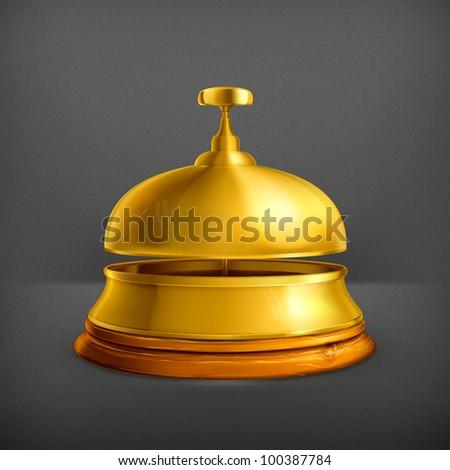 Reception Bell, 10eps - stock vector
