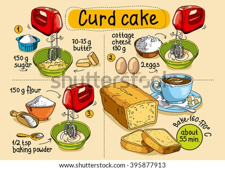 Recipe For Homemade Curd Cake Step By Instructionsdessert