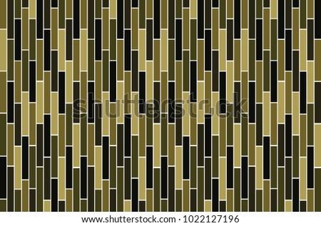 Rectangle Dark Green Wallpaper Design Pattern Background Vector Eps10
