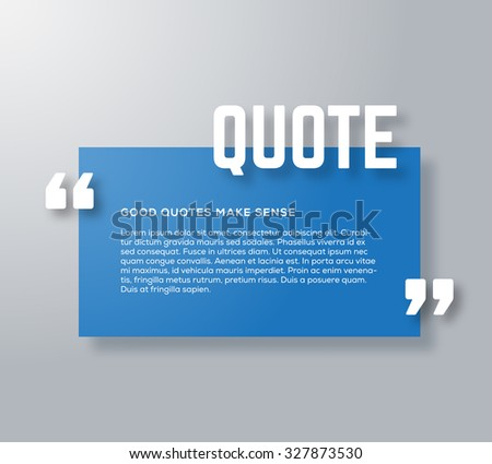 Design Quote Box Stock Images, Royalty-Free Images & Vectors