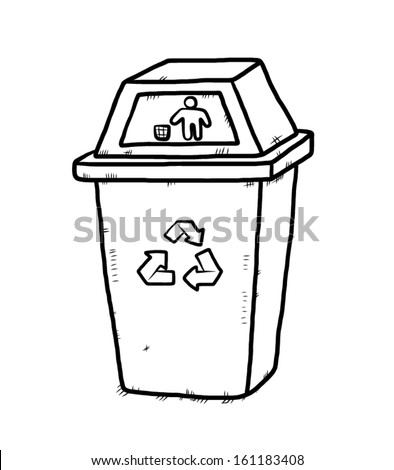 Cartoon+recycling+bin
