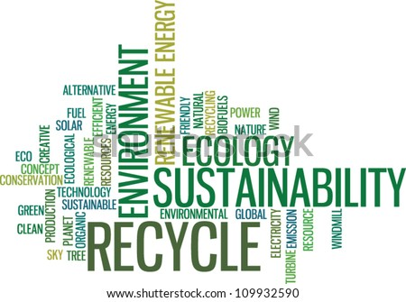 Recycle green environment concept vector