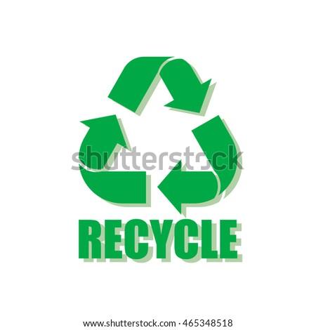 Recycling symbol chroma key green screen animation  YouTube