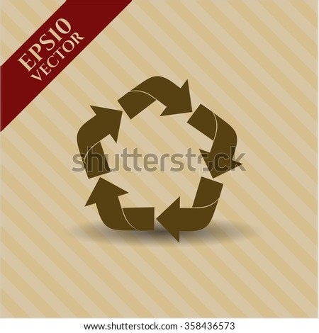 Recycle icon or symbol