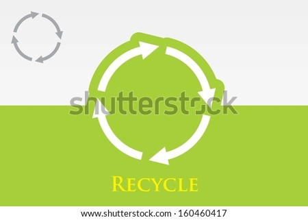 Recycle (Reuse) Icon. Eps-10