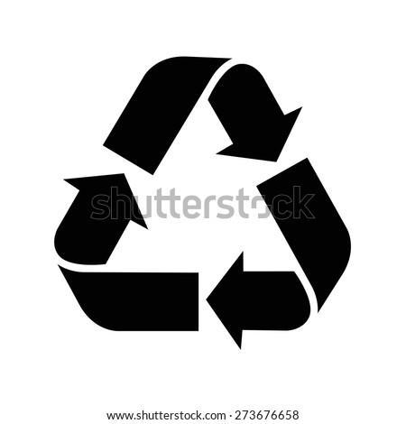 Recycle simbol - stock vector