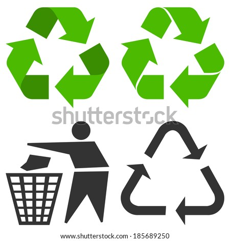 Recycle Symbol - stock vector