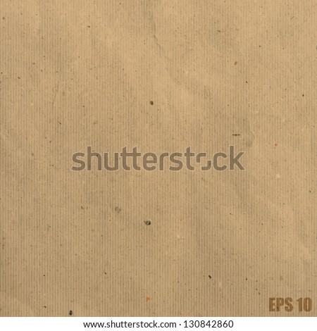 Recycled paper background.Illustration eps10 - stock vector