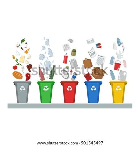 Recycled materials stock images royalty free images for Waste material items