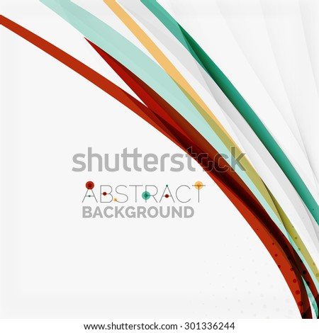 Red and blue color swirl concept, abstract background