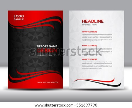 ganpanjanees Cover inside annual report template set on – Sample Annual Report of a Company