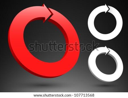 Circular Logo St...D Arrow Logo