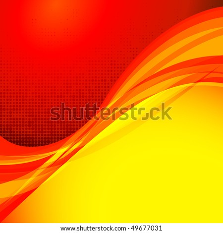 Red background design series - stock vector