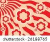 Red background vector - stock vector