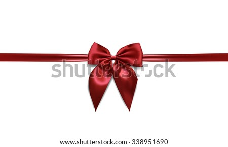 red bow line