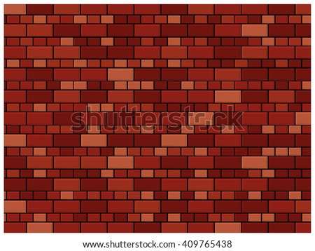 White Brick Wall Subway Tile Pattern Stock Vector 408872755
