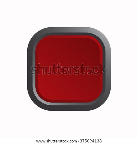 Red button Icon JPG, Red button Icon Graphic, Red button Icon Picture, Red button Icon EPS, Red button Icon AI, Red button Icon JPEG, Red button Icon Art, Red button Icon, Red button Icon Vector - stock vector