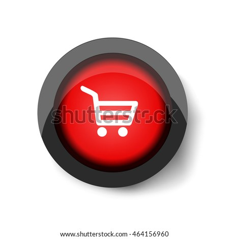 Red button with a shopping basket.
