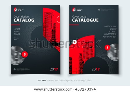 Brochure template layout cover design annual report magazine flyer - Catalog Stock Images Royalty Free Images Amp Vectors