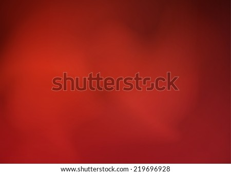 red Cloud and smoke abstract backgrounds - stock vector