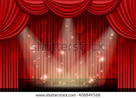 Sparkling Curtain Stock Photos, Royalty-Free Images & Vectors ...
