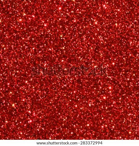 Red glitter seamless pattern/ texture. Vector illustration. - stock vector