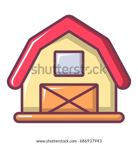 Red Barn Door Clip Art open barn door stock vectors, images & vector art | shutterstock
