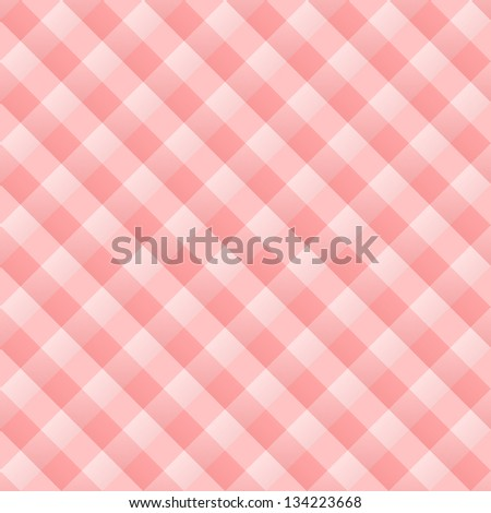 Red Kitchen Pattern - Seamless red and white traditional design tablecloth - stock vector