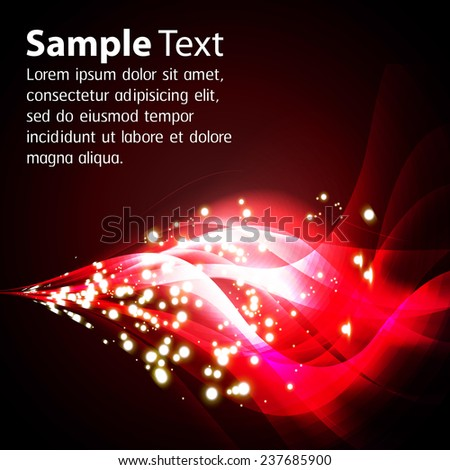 red Light Abstract Technology background for computer graphic website internet and business. text box. Brochure. card. wave.
