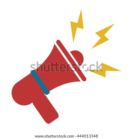 """red Bullhorn"" Stock Photos, Royalty-Free Images & Vectors ..."