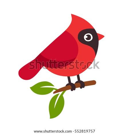 cardinal bird cartoon stock images royalty free images