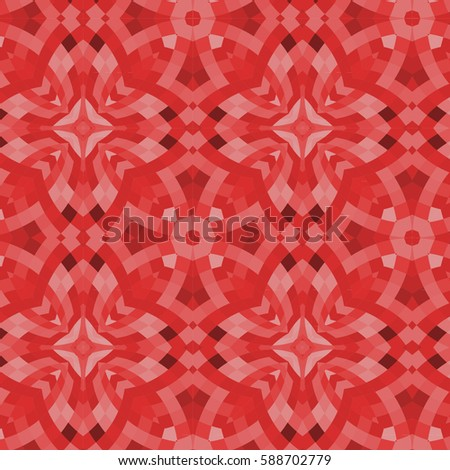 Red Pattern Oriental Background For Wallpaper Gift Paper Fabric Print Furniture