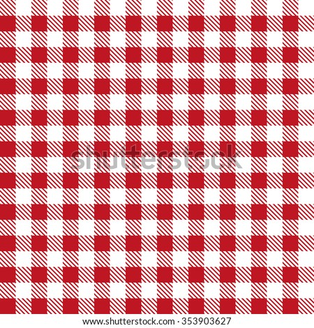 Red Patterns Tablecloths Stylish A Illustration Design
