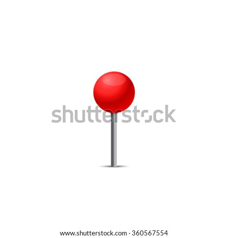 Red pin icon