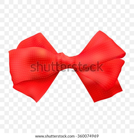 Red Bow Transparent